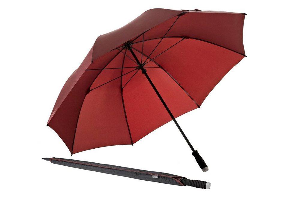 Euroschirm® Regenschirm Golfschirm, »birdiepal® lightflex« in weinrot
