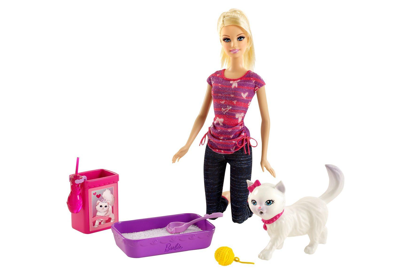 Mattel, Spiel-Set, »Barbie - Barbie & Stubenreines Kätzchen«