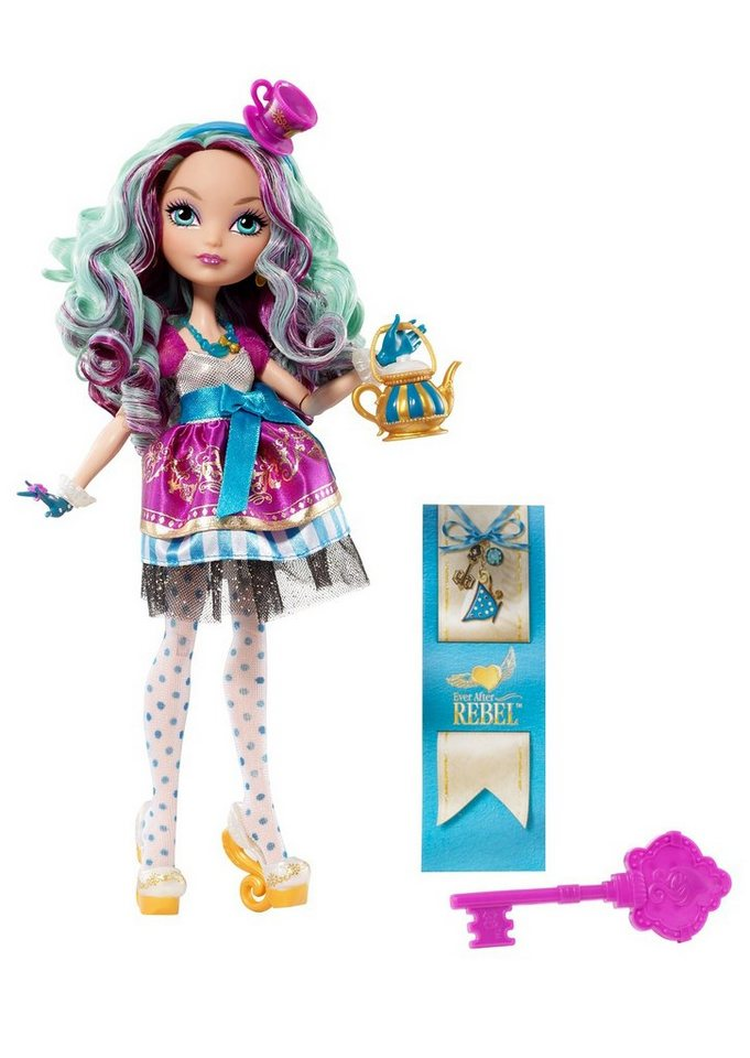 Mattel, Puppe, »Ever After High - Rebel Madeline Hatter« in bunt