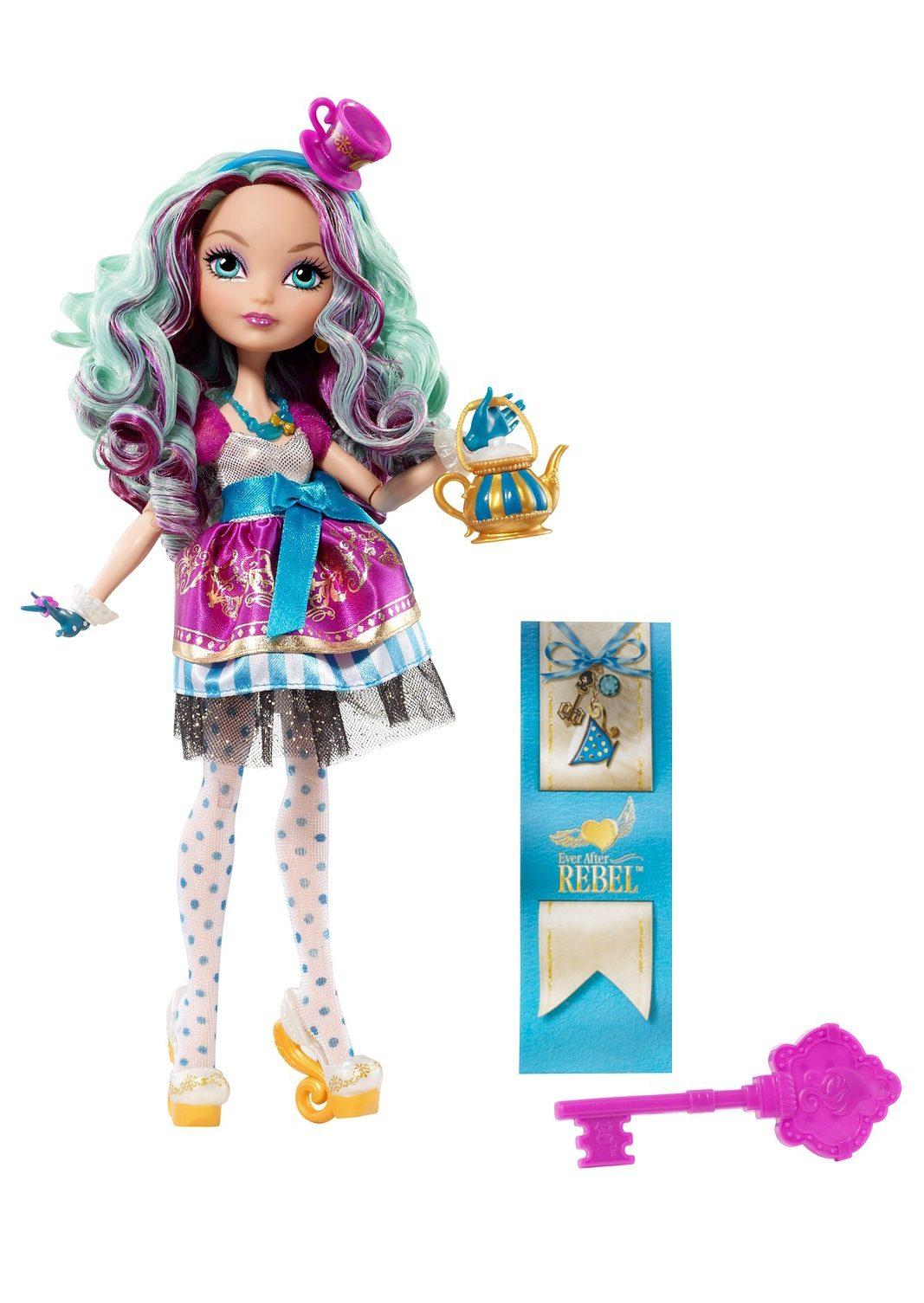 Mattel, Puppe, »Ever After High - Rebel Madeline Hatter«