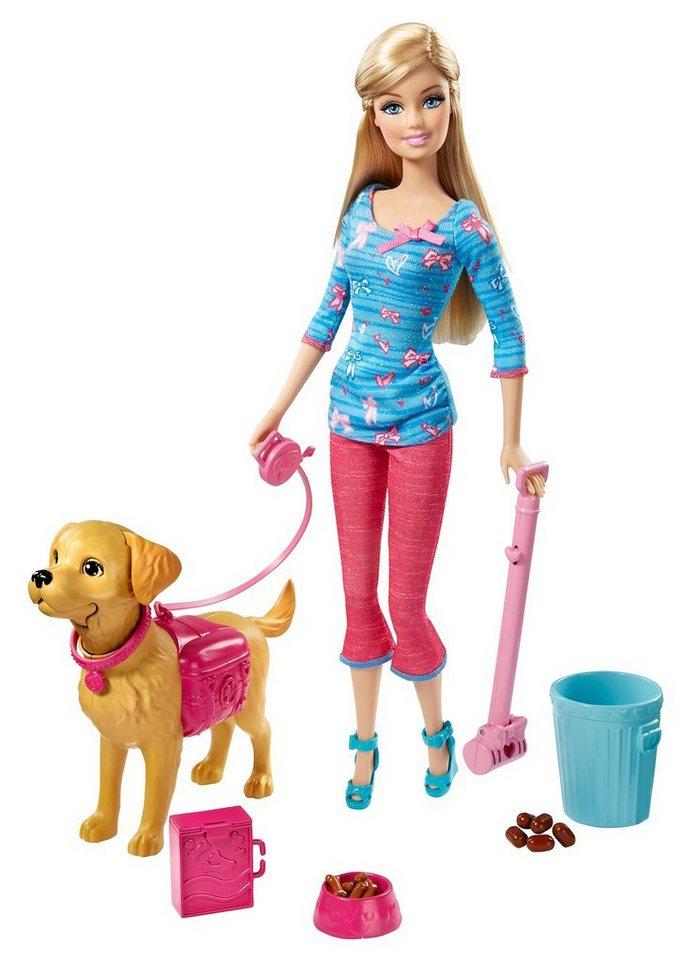 Mattel, Spiel-Set, »Barbie - Barbie & Stubenreines Hündchen«