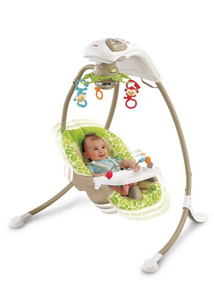 Fisher Price, Babyschaukel in bunt