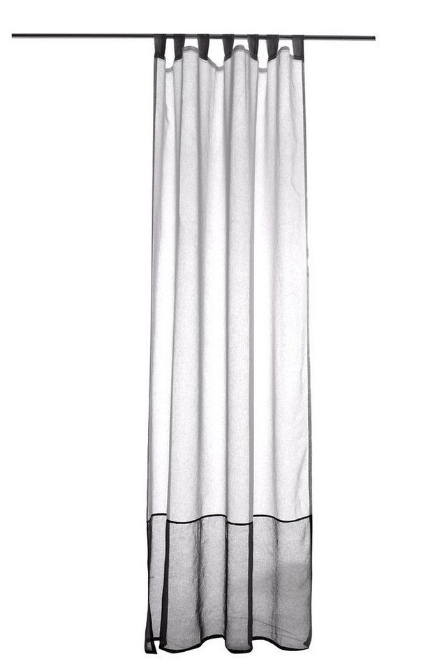 Gardine, Raffi, »Duet« (1 Stück) in white/graphite