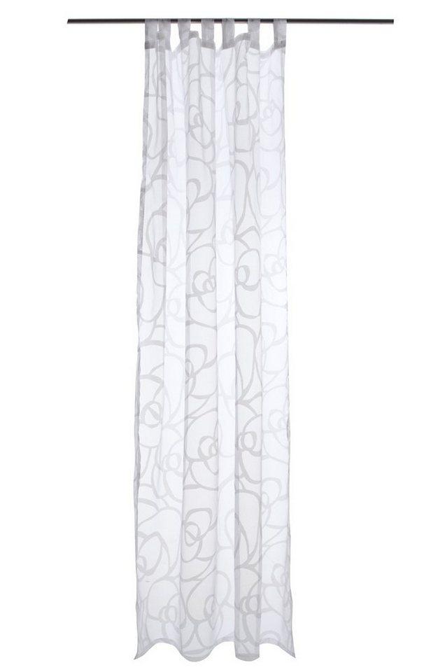 Gardine, Raffi, »Rose Voile« (1 Stück) in white