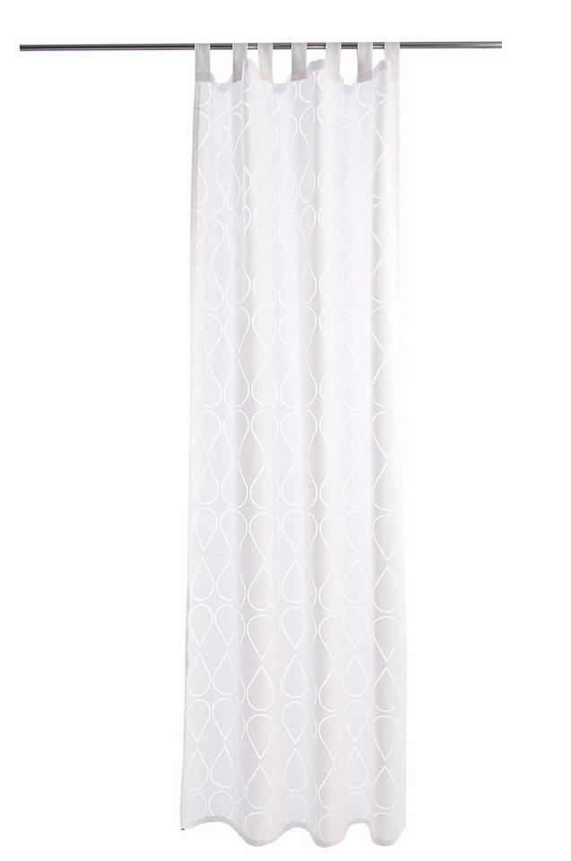 Vorhang, Raffi, »Facet« (1 Stück) in white
