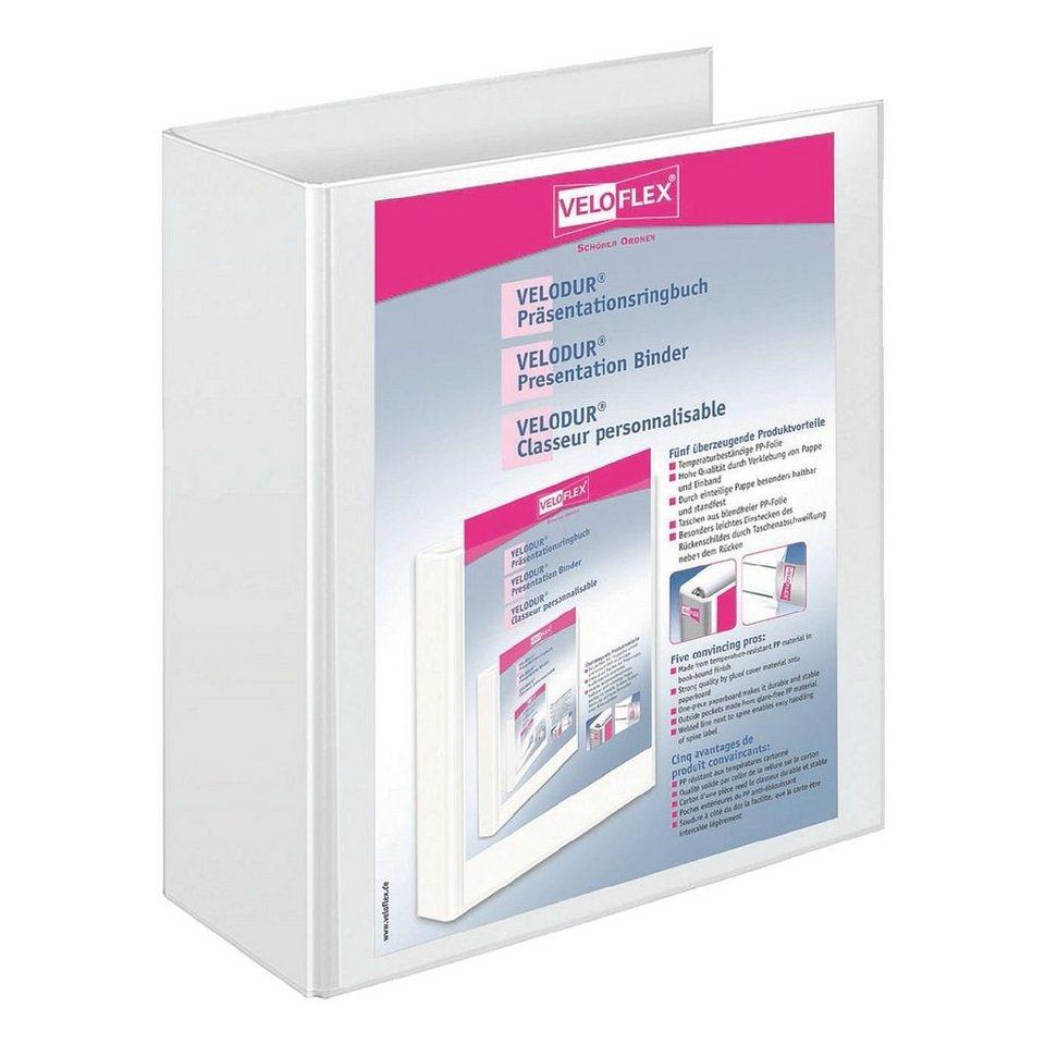 Veloflex Präsentationsringbuch in weiß