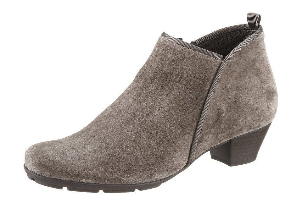 Ankle-Boots, Gabor in grau