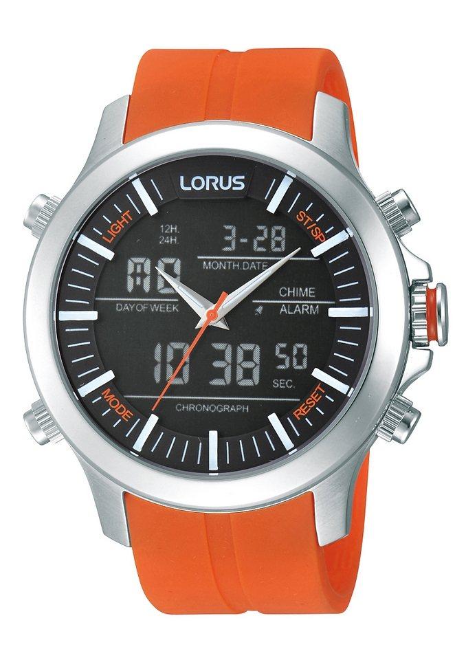 LORUS Chronograph »RW609AX9« Aus dem Hause Seiko in orange
