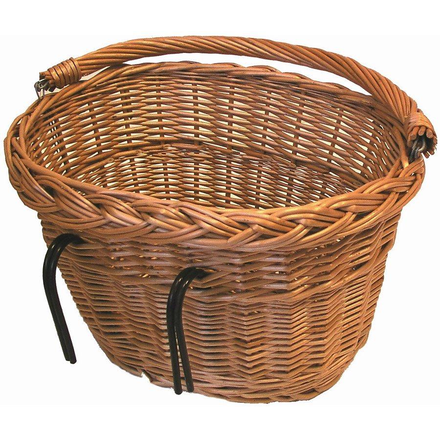 Basil Fahrradkorb »Denver Weidenkorb oval«