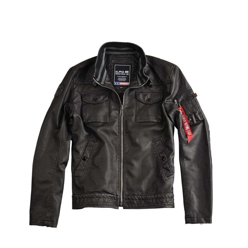 ALPHA INDUSTRIES Jacke »MC Club Jacket FL« in black