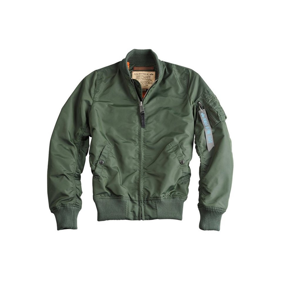 ALPHA INDUSTRIES Jacke »MA-1 TT Wmn« in sage-green