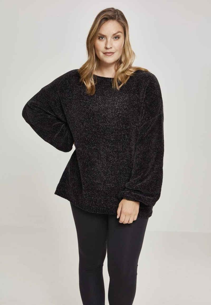 URBAN CLASSICS Sweatshirt »Ladies Oversize Chenille Sweater«
