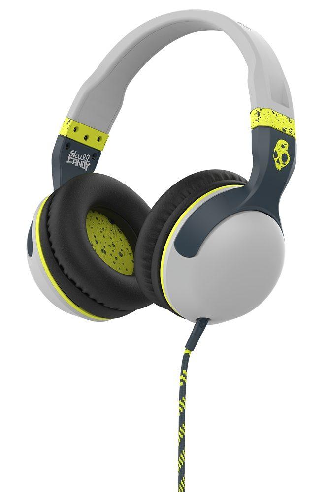 Skullcandy Headset »HESH 2 OVER-EAR W/MIC 1 LIGHT GRAY/DARK GRAY/HOT L«