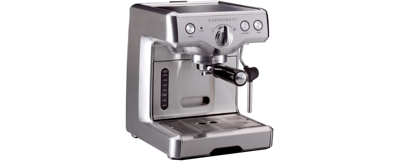 Gastroback Design Espressomaschine Advanced 42609, 17 Bar
