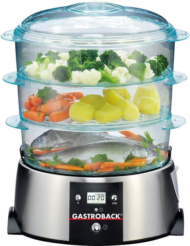 Gastroback Design Dampfgarer 42510