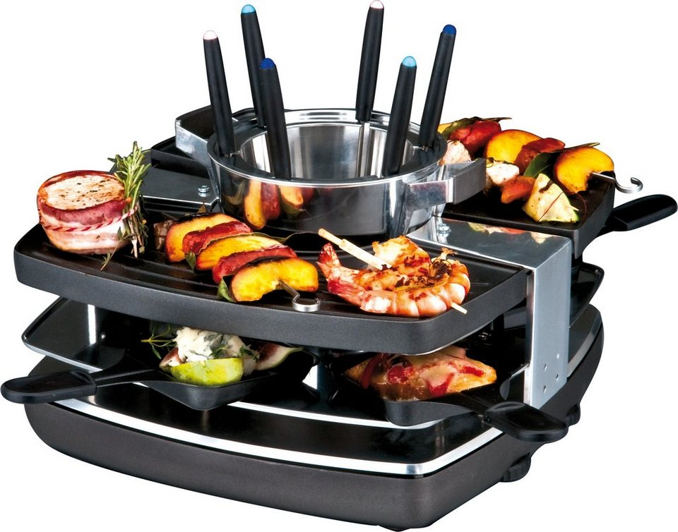 gastroback design raclette fondue set 42559 kaufen otto. Black Bedroom Furniture Sets. Home Design Ideas