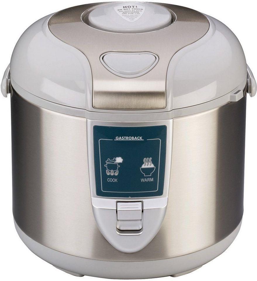 Gastroback Design Reiskocher »Pro 42518« für 5 Liter