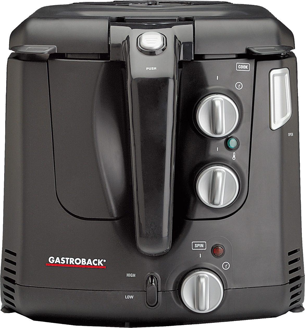Gastroback Fritteuse Vita-Spin-Fritteuse 42580 , 2000 Watt