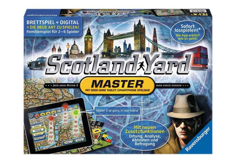 Ravensburger Spiel, »Scotland Yard - Master«, Made in Europe, FSC® - schützt Wald - weltweit