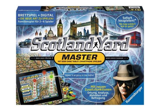 Ravensburger Spiel, »Scotland Yard - Master«, Made in Europe
