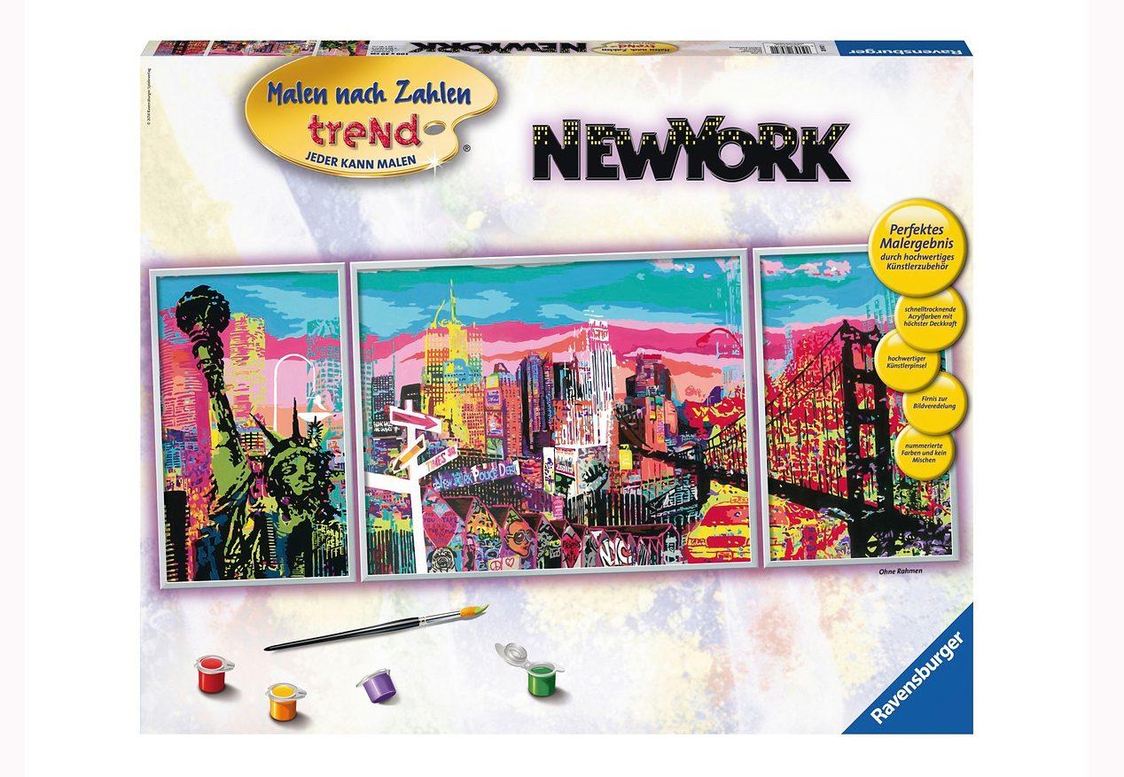 Ravensburger Malen nach Zahlen, »New York«