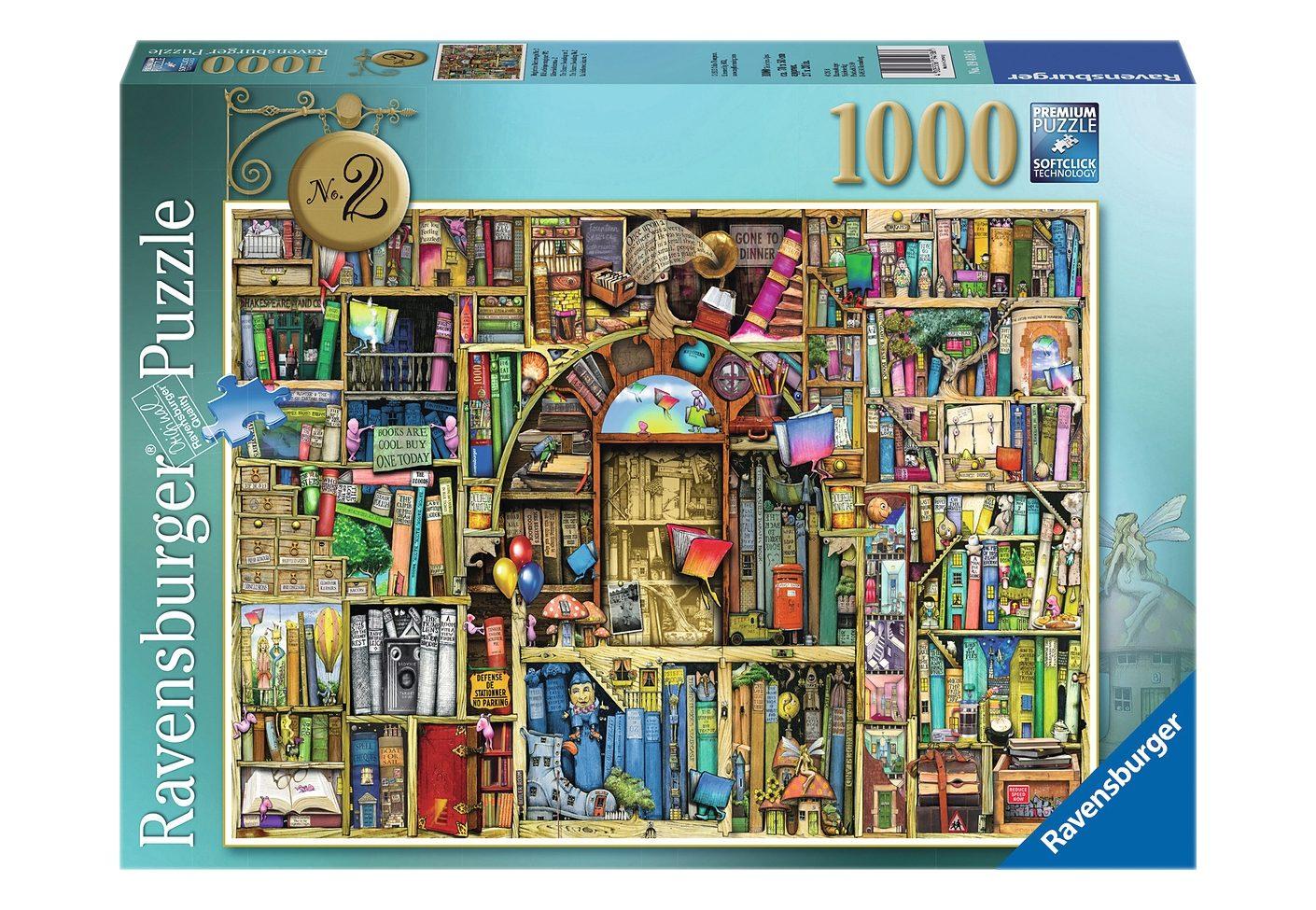 Ravensburger Puzzle 1000 Teile, »Magisches Bücherregal Nr. 2«