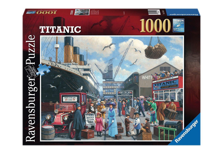Ravensburger Puzzle 1000 Teile, »Jungfernfahrt der Titanic«
