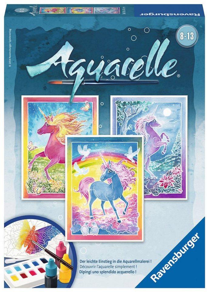Ravensburger Aquarelle, »Einhörner«
