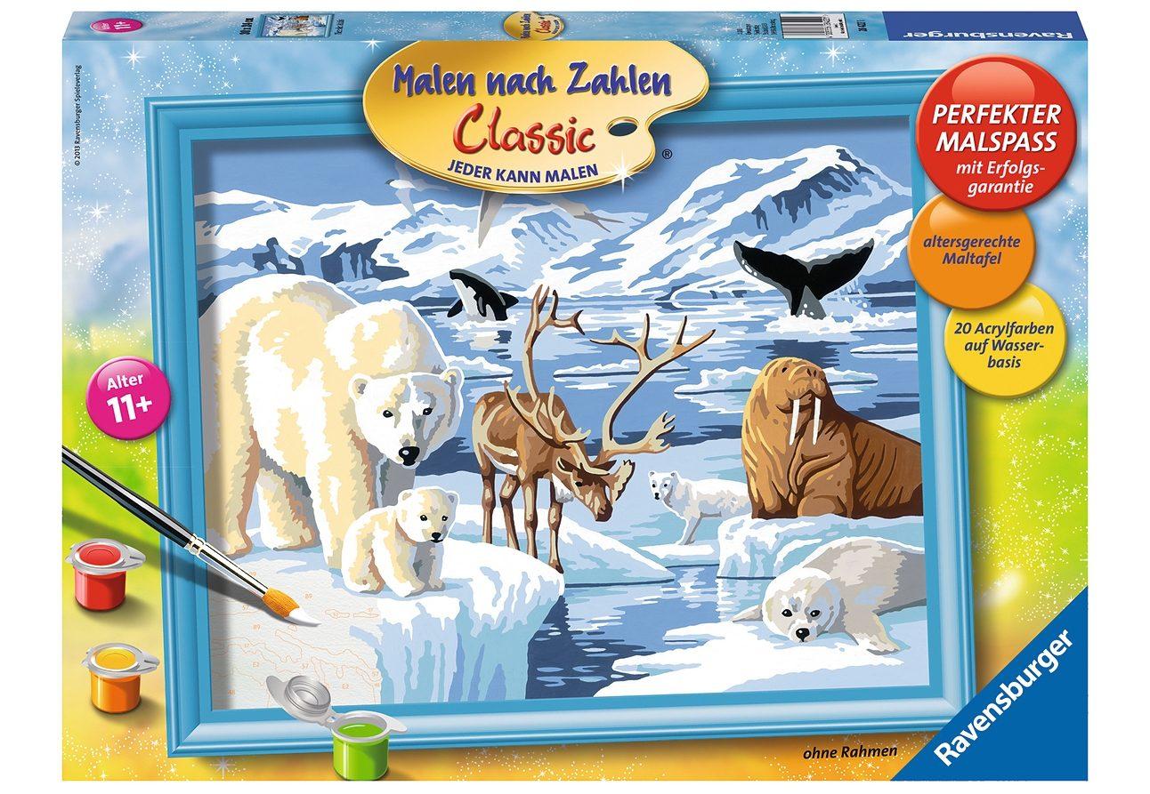 Ravensburger Malen nach Zahlen, »Tiere der Arktis«