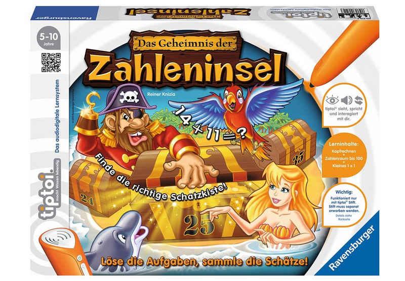 Ravensburger Spiel, »tiptoi® - Das Geheimnis der Zahleninsel«, Made in Europe, FSC® - schützt Wald - weltweit