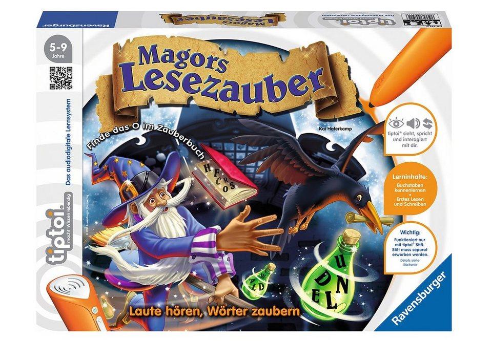Ravensburger tiptoi® Spiel,  Magors Lesezauber