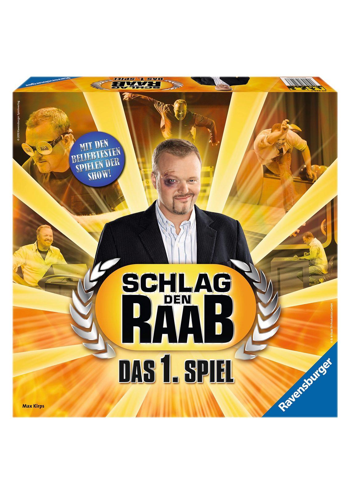 Ravensburger Familien-Spiel, »Schlag den Raab - Das 1. Spiel«