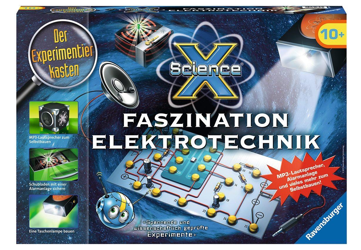 Ravensburger Experimentier-Set, »® Faszination Elektrotechnik«