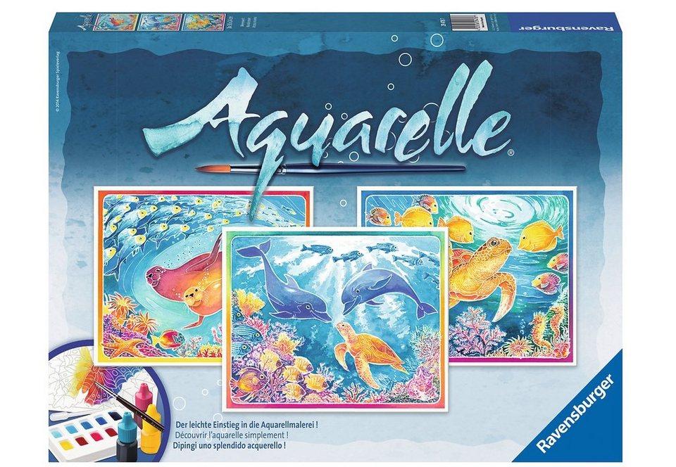Ravensburger Aquarelle, »Meereswelt«