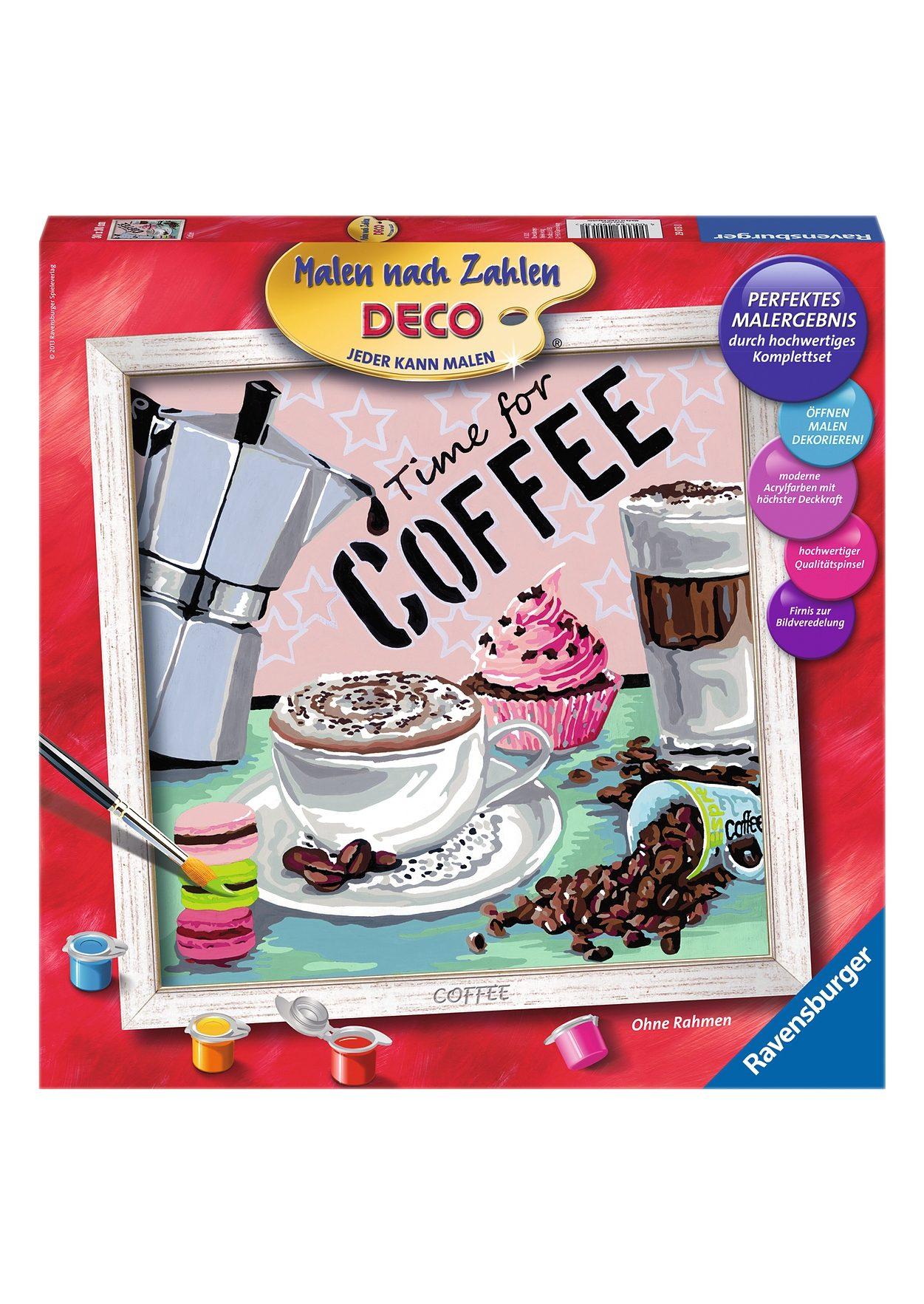 Ravensburger Malen nach Zahlen, »Coffee«