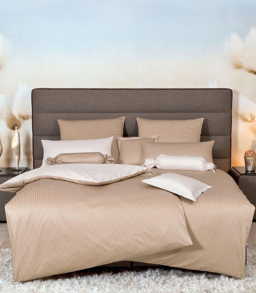 wendebettw sche janine doppelstreifen edles design. Black Bedroom Furniture Sets. Home Design Ideas
