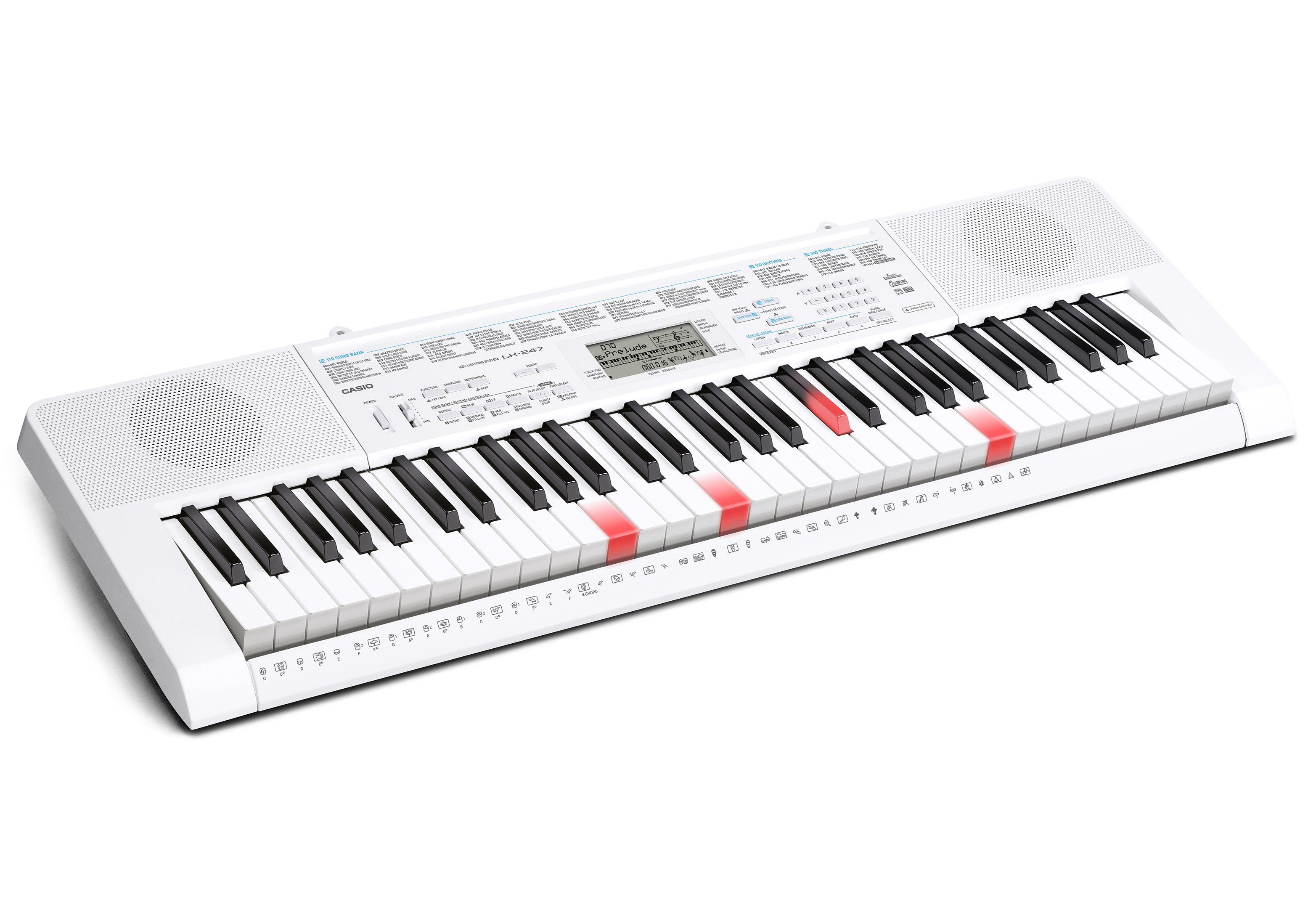 Casio® Keyboard, »LK-247 inkl. Netzteil AD-E95100«