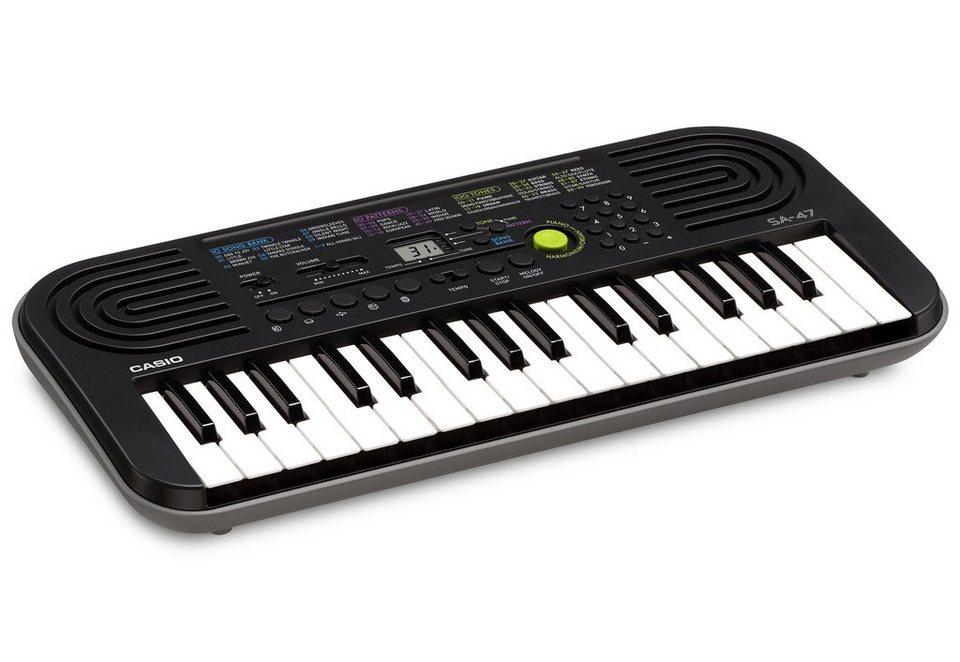 Casio® Keyboard, »SA-47« in grau