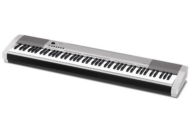 Casio® Digital Piano, »CPD-130SR inkl. Pedal u. Netzteil« in silberfarben