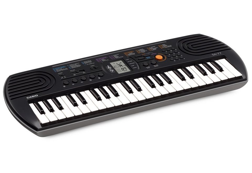 Casio® Keyboard, »SA-77« in grau