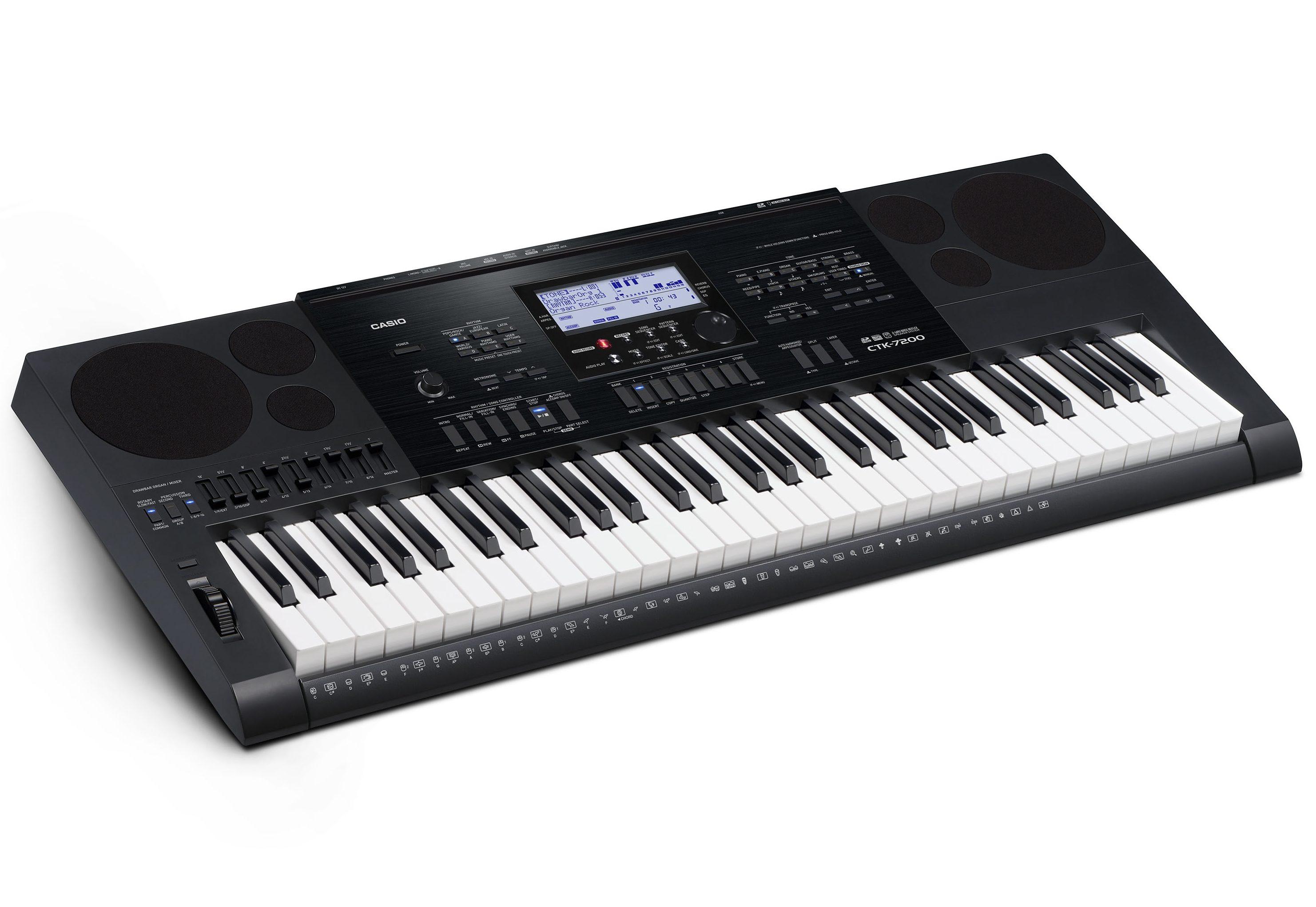 Casio® Keyboard, »CTK-7200 inkl. Netzteil u. Notenhalter«