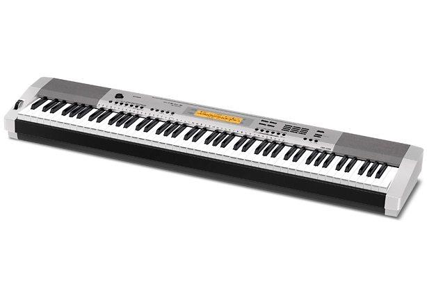Casio® Digital Piano, »CPD-230RSR inkl. Pedal u. Netzteil« in silberfarben
