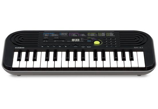 CASIO Keyboard »Mini-Keyboard SA47«, mit praktischem Umschaltknopf