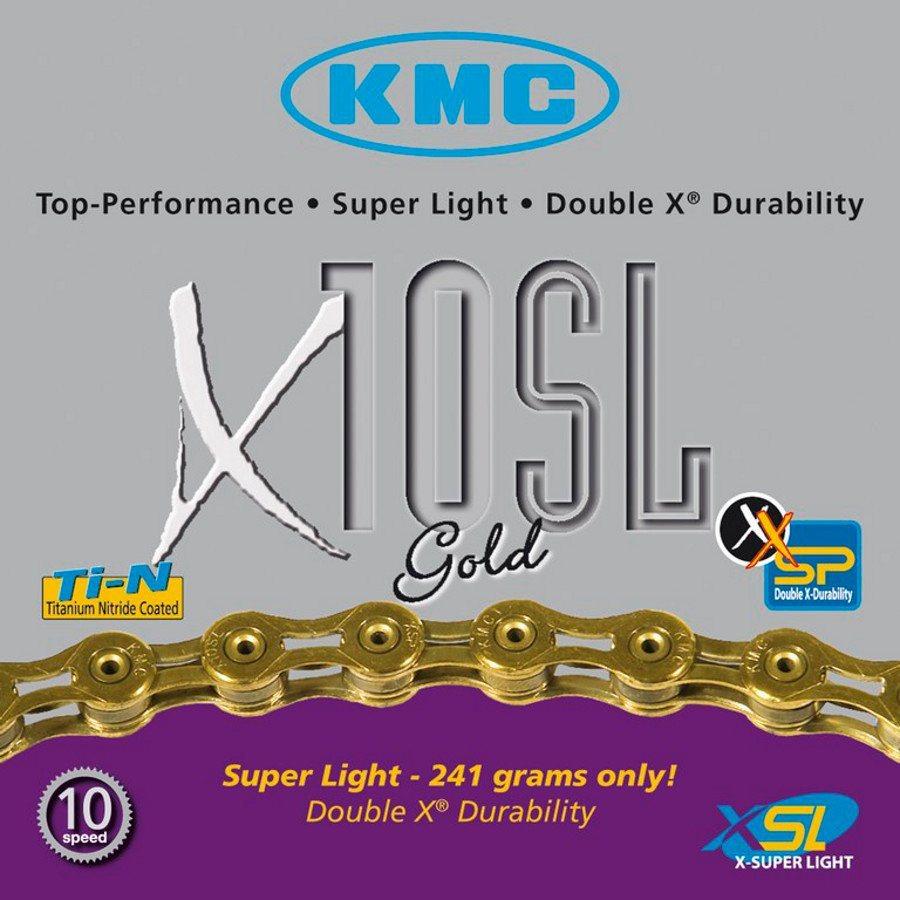KMC Ketten »X-10-SL Kette gold«