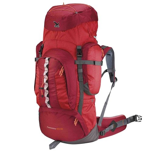 Salewa Rucksäcke »Cammino 50+10« in red/anthracite