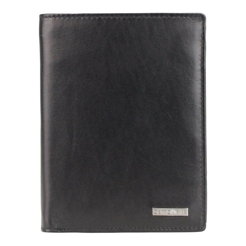 Samsonite S-Derry Geldbörse Leder 9.8 cm in black