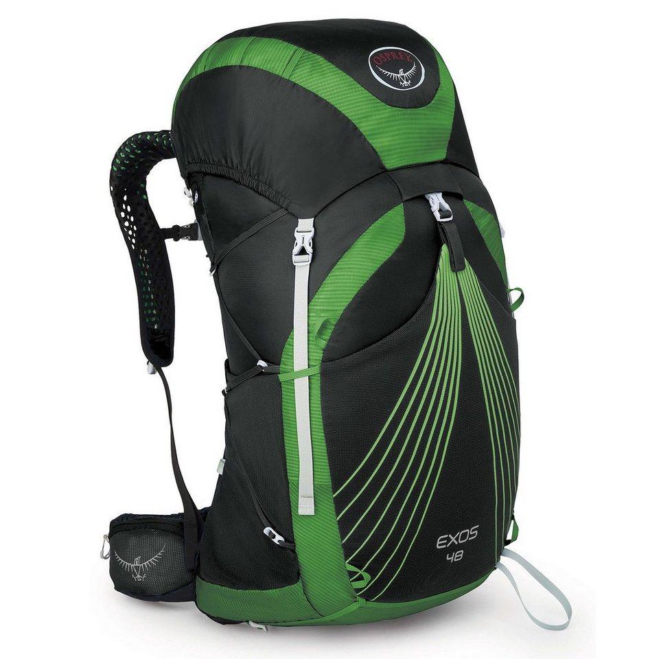 Osprey Sport- und Freizeittasche »Exos 48 Backpack L« in schwarz