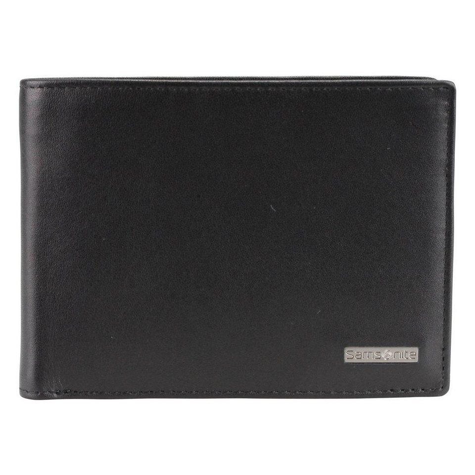 Samsonite S-Derry Geldbörse Leder 12 cm in black