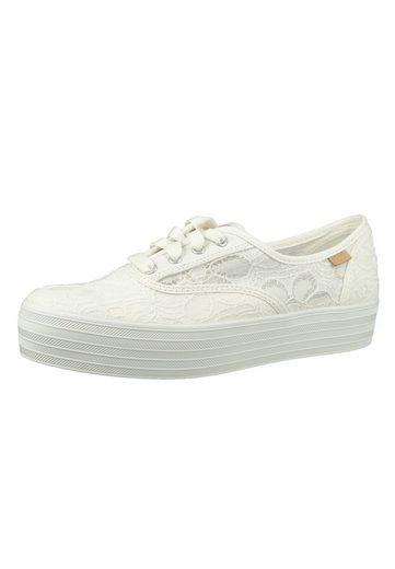 Keds »WF62076 TPL CVO Floral Cream« Sneaker