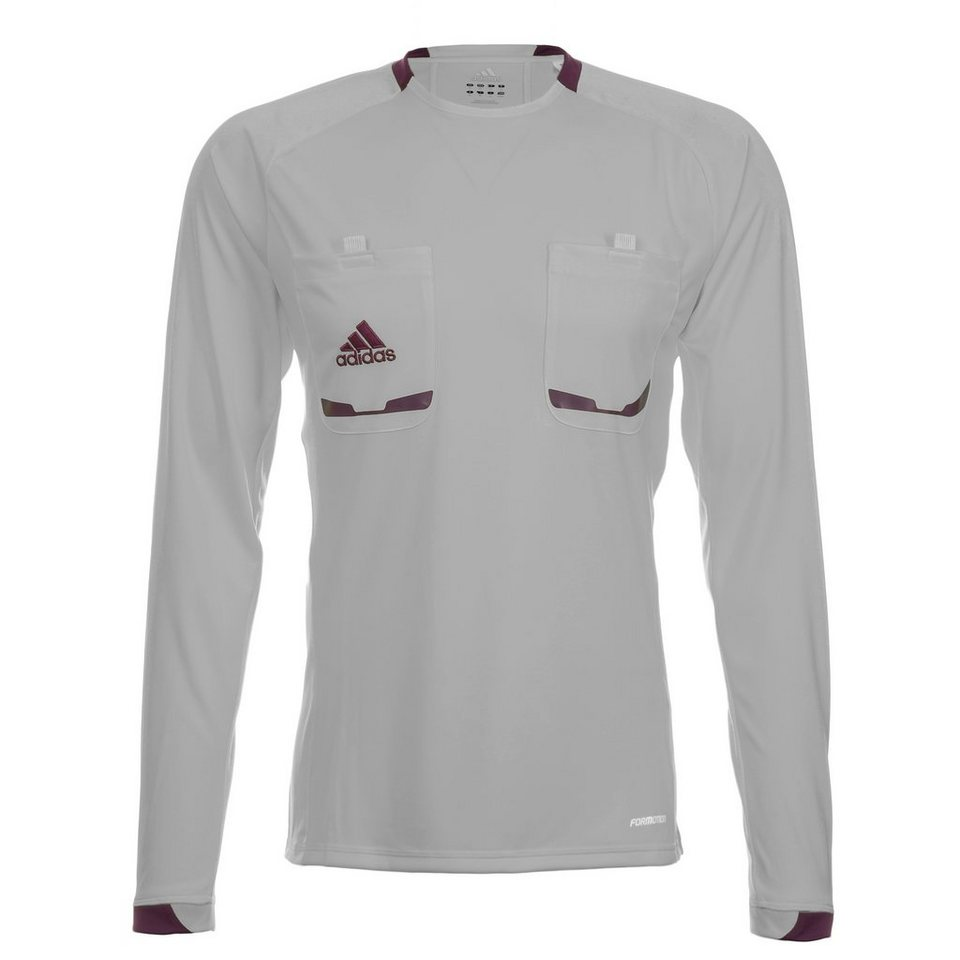 adidas Performance Referee 12 Schiedsrichtertrikot Herren in silber / lila